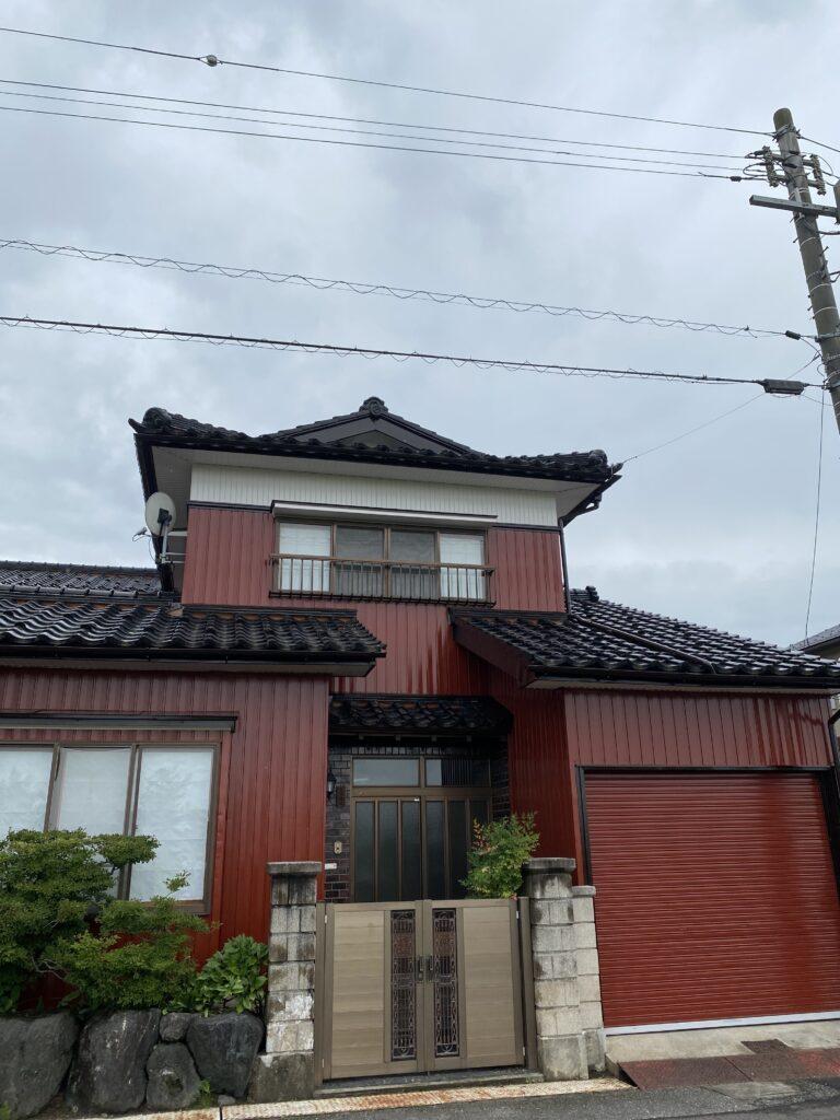 富山県高岡市F邸外壁塗装
